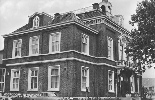 Hoofdweg W 0671 1966 Raadhuis