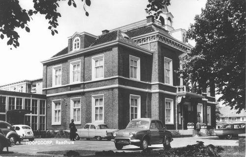 Hoofdweg W 0671 1967 Raadhuis