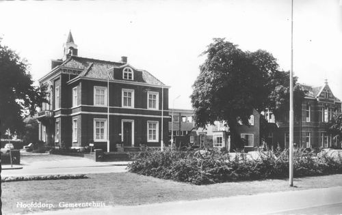 Hoofdweg W 0671 1970 Raadhuis