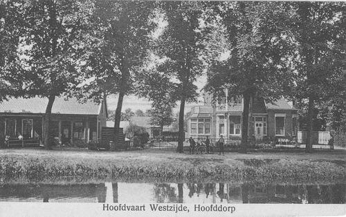 Hoofdweg W 0681-679 1911 Burgemeesterwoning