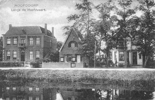 Hoofdweg W 0685-689 1923 Notarishuis ZwW