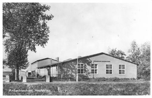 Hoofdweg W 0709 1951 Ambachtschool_1
