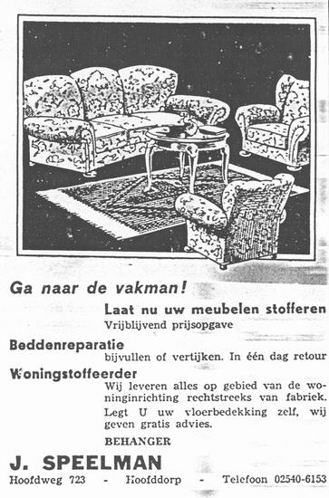 Hoofdweg W 0723 1961 Stoffeerder J Speelman