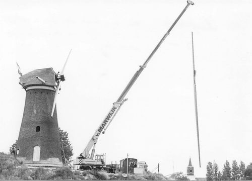 Hoofdweg W 0741 1977 Eersteling montage kop en gevlucht