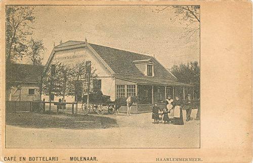 Hoofdweg W 0901 1907 Cafe en Bottelarij Molenaar