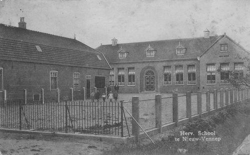 Hoofdweg W 1151 1924 Hervormde School