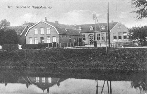 Hoofdweg W 1151 1934 Hervormde School
