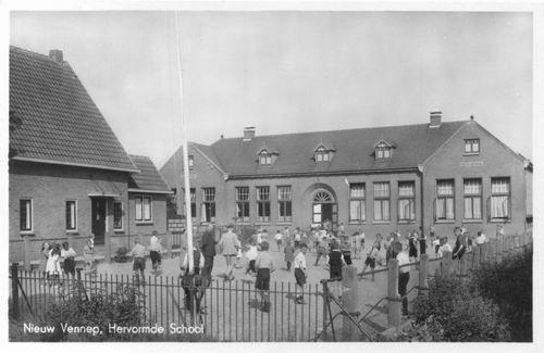 Hoofdweg W 1151 1941 Hervormde School
