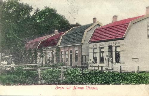 Hoofdweg W 1165-1171 1907 Ingekleurd