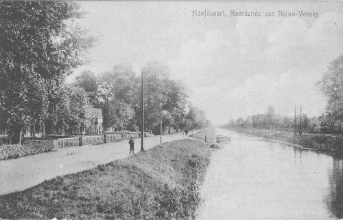 Hoofdweg W 116_ 1917 en Overzijde