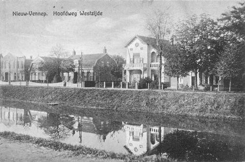 Hoofdweg W 1179-1181 1917 Dokterswoning ea