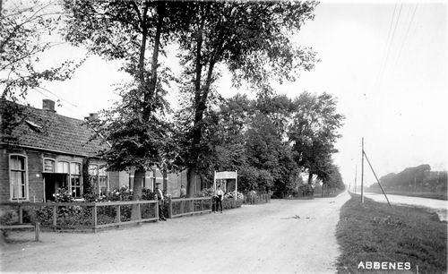 Hoofdweg W 157_ 1932 Aannemer Kerkhoven en Koopman