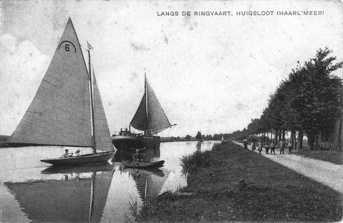 Huigsloterdijk 0295 1918+ Ringdijk met Schuiten