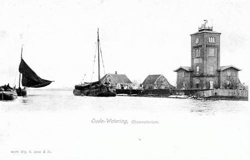 Huigsloterdijk 005_ Overzijde 1905 Oude Wetering Observatorium