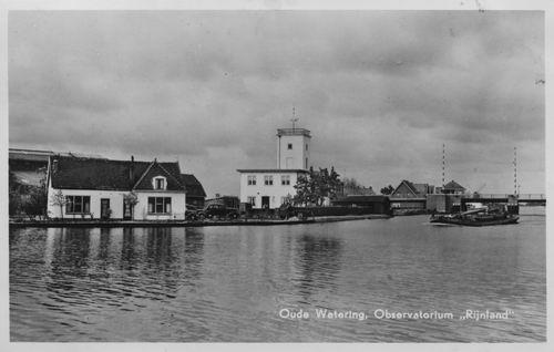Huigsloterdijk 005_ Overzijde 1957 Oude Wetering Observatorium