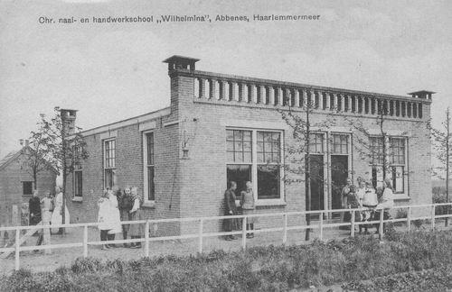 Huigsloterdijk 0153 Chr Naai en Handwerkschool Wilhelmina