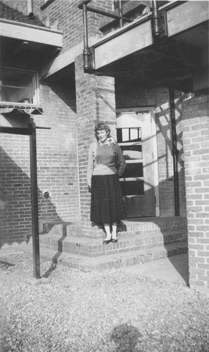 Huishoudschool Hoofddorp 1958 1e Klas  Juf v Arem