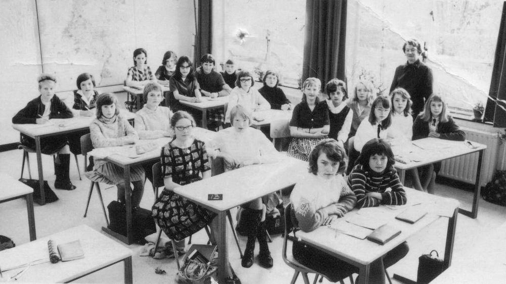 Huishoudschool Hoofddorp 1965 Klas 1b