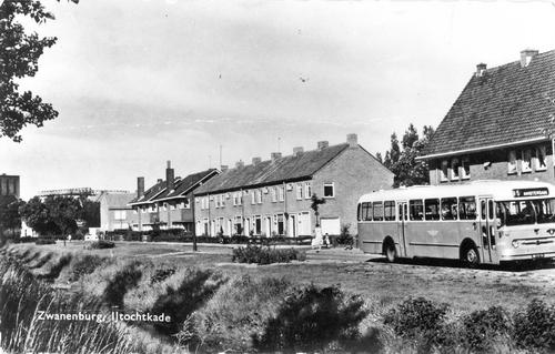 IJtochtkade 1960 met Bus 85 naar Amsterdam