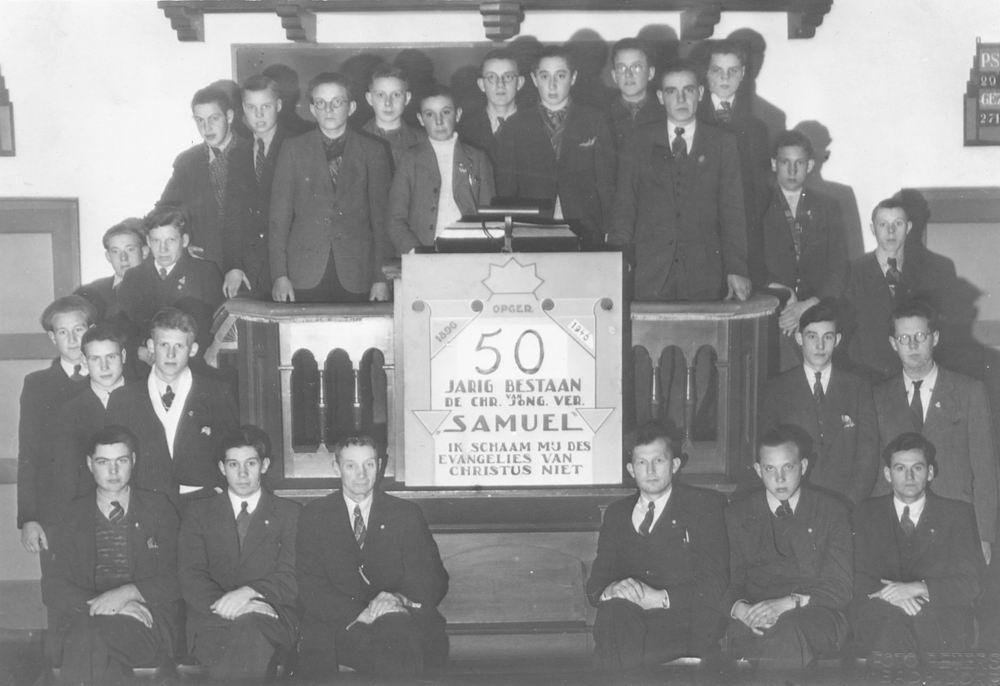 Jongelingenvereniging Samuel Rijk 1946 50 Jarig Jubileum