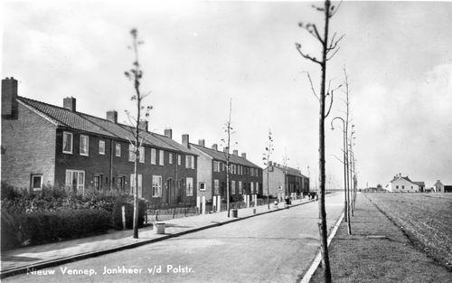 Jonkheer vd Pollstraat 1952 Zicht
