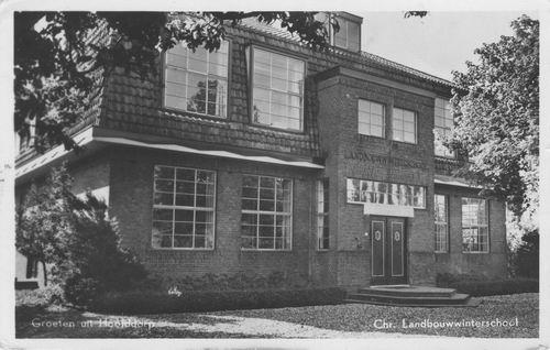 Julianalaan 0046 1952 Chr Landbouw Winterschool