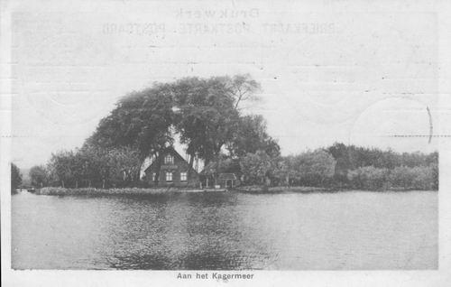 Kaag 1907 Warmond Boerderij de Eenzaamheid