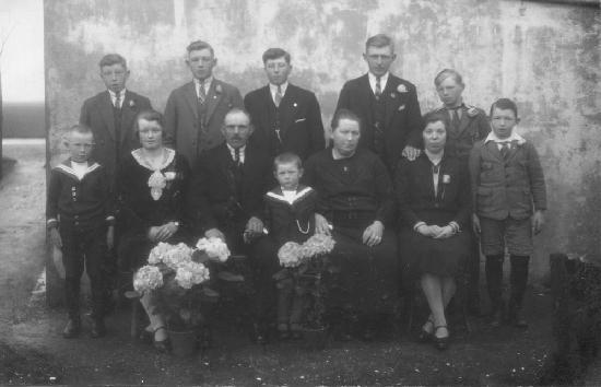 Kamerman Jan 1931 Gezinsfoto bij 25jr getrouwd