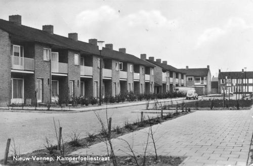 Kamperfoeliestraat 1967