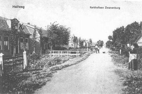 Kerkhoflaan 1916 tussen Olmenlaan en Wilgenlaan