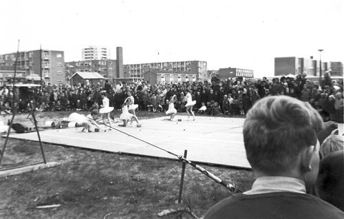 Kindercircus 1965 Optreden in Schalkwijk 01