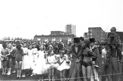 Kindercircus 1965 Optreden in Schalkwijk 02