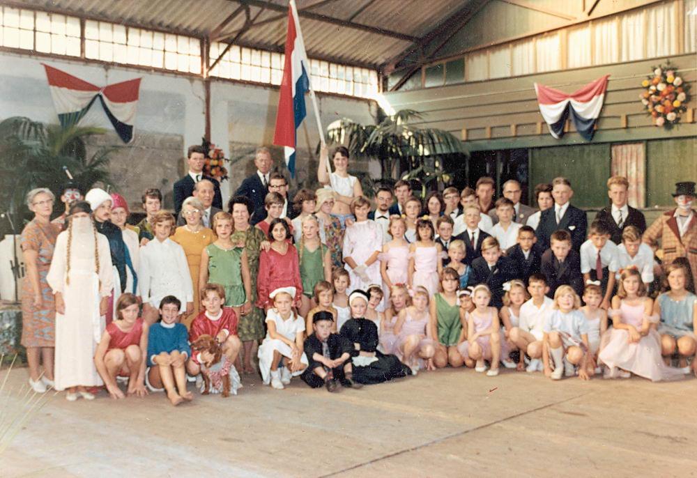 Kindercircus 1965 Slotuitvoering in Hoofddorp 07