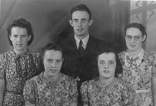 Klein Pieter 1941 Kinderen bij de Fotograaf