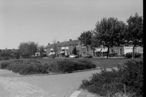 Koegrasstraat 1979 zicht vanaf Beemsterstraat