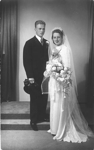 Koning Bep de 1919 1941 trouwt Willem F Kann 01