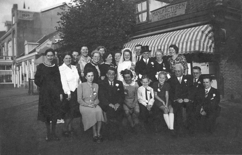 Koning Bep de 1919 1941 trouwt Willem F Kann 03