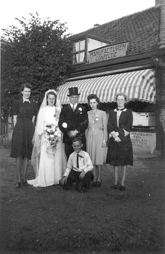 Koning Bep de 1919 1941 trouwt Willem F Kann 04