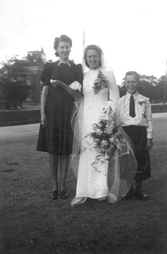 Koning Bep de 1919 1941 trouwt Willem F Kann 05