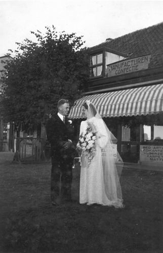Koning Bep de 1919 1941 trouwt Willem F Kann 06