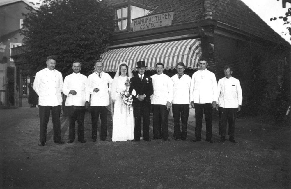 Koning Bep de 1919 1941 trouwt Willem F Kann 07