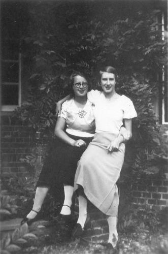 Koning Bep de 1919 1935 met Janny Roodenburg
