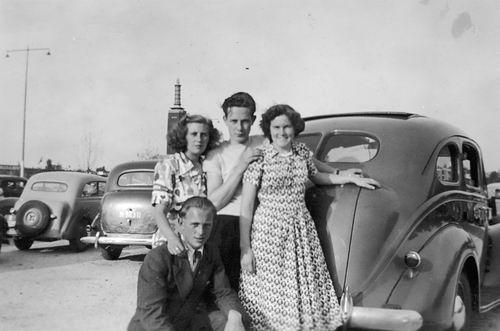 Koning Joop de 1930 19__ Uitje met Nel de Vos en Vrienden 01