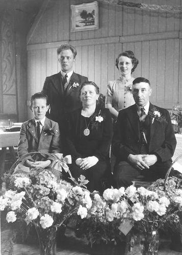 Koning Piet de 1891 1944 25jr Getrouwd 02_2