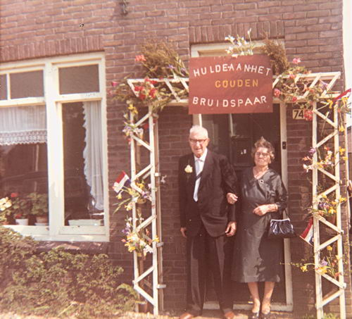 Koning Piet de 1891 1969 50jr getrouwd 01