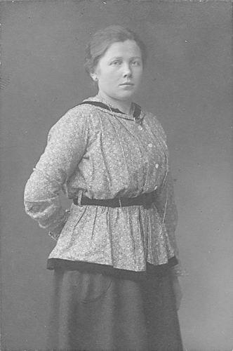 Koning-Tichelaar Stijntje de 1896 19__ bij Fotograaf 08