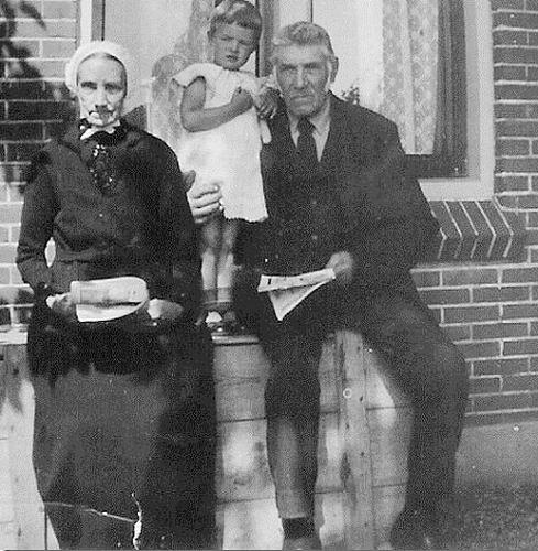 Koning Willem de 1854 1930 met vrouw Catalina M Kooijman ea