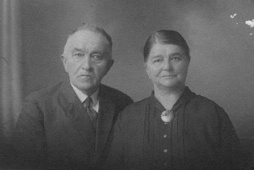 Kooij Jaap 1859 1931 50jr getrouwd met Antje Weber