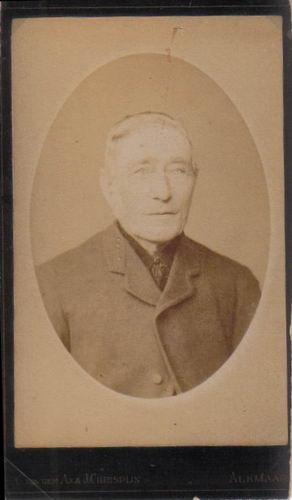 Kooij Teunis 1822 19__ Portret