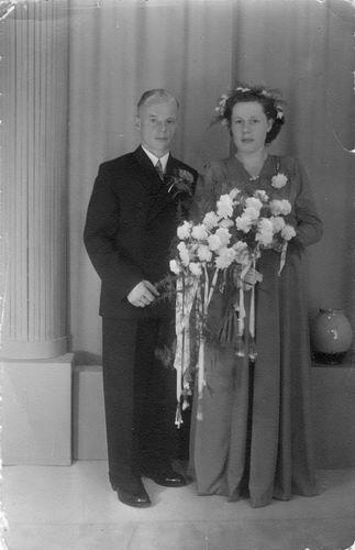 Koter Gerrit de 1949 trouwt Annie v Os
